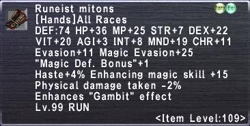 Runeist Mitons