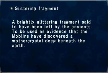 Glittering Fragment