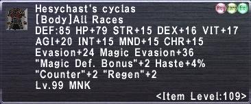 Hesychast's Cyclas
