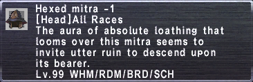 Hexed Mitra -1
