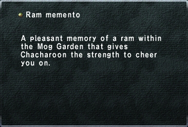 Ram memento