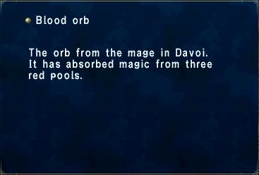 Blood Orb