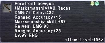 Forefront Bowgun