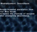 ffxi moghancement desynthesis This is helpful when attempting desynthesis with this moghancement you will  have a greater chance of successfully desynthesizing items by 1-2.
