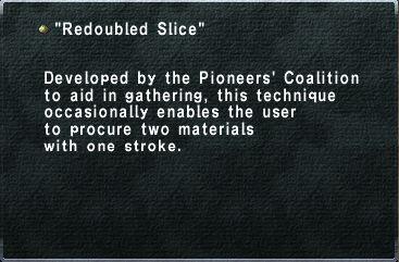 Redoubled Slice