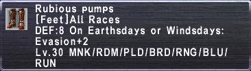 Rubious Pumps