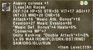 Augury cuisses +1