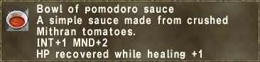Bowl of pomodoro sauce