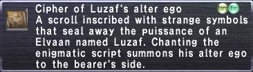 Cipher Luzaf
