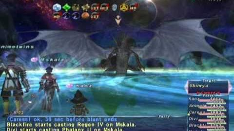 "FFXI Shinryu ""Wyrm God"" Primeval Brew (Full Battle)"