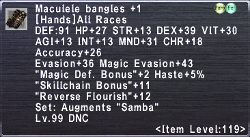 Maculele Bangles +1