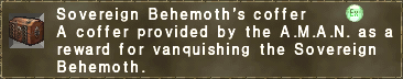 Sovereign Behemoth's coffer
