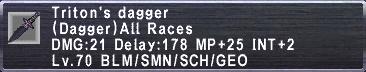 TritonsDagger