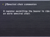 ♪Spectral Chair companion