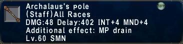Archalaus's-Pole