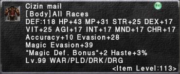 Cizin Mail