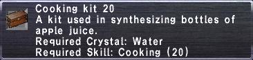 Cooking Kit 20