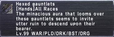 Hexed Gauntlets