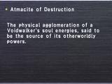 Atmacite of Destruction
