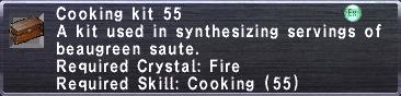 Cooking Kit 55