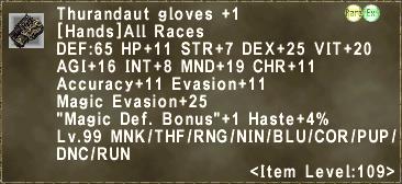 Thurandaut gloves +1
