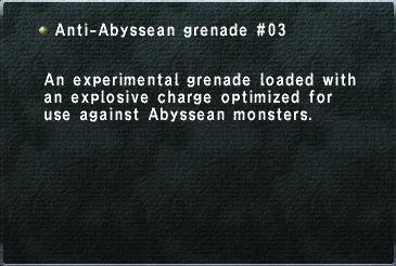 Anti Abyssean Grenade03
