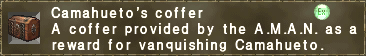 Camahueto's coffer