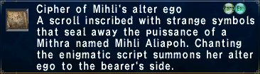Cipher Mihli