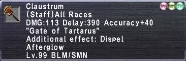 Claustrum (99-2)