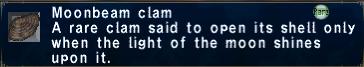 Moonbeam clam