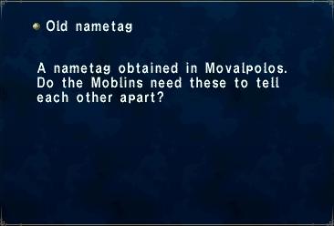 Old Nametag