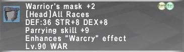 WAR Relic Head Plus 2