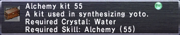 Alchemy Kit 55