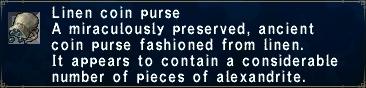 Linen Coinpurse