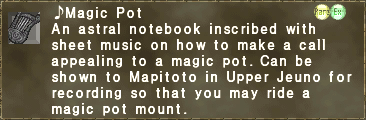 ♪Magic Pot