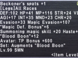 Beckoner's Spats +1
