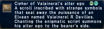 Cipher Valaineral