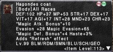 Hagondes Coat