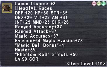 Lanun tricorne +3