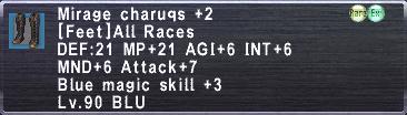 Mirage Charuqs +2