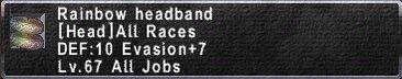 RainbowHeadband