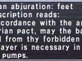 Aquarian Abjuration: Feet