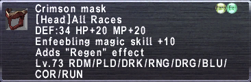 Crimson Mask