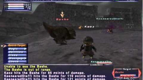 FFXI NM Saga 370 Bashe vs BST Full Battle