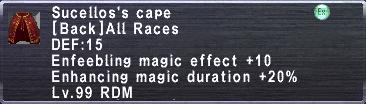 Sucellos's Cape