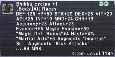 Bhikku Cyclas +1