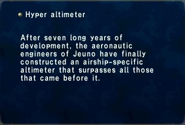 Hyper Altimeter
