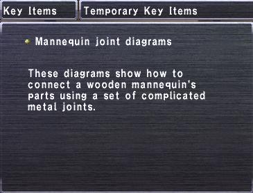 Mannequin Joint Diagrams