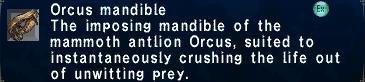 Orcusmandible