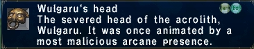 Wulgarus head